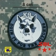 "Funny Patch Emborrachado K9 ""Doin it the Bitches"" na internet"