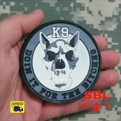 "Funny Patch Emborrachado K9 ""Doin it the Bitches"" - MILITARIA SBL"