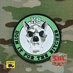 "Imagem do Funny Patch Emborrachado K9 ""Doin it the Bitches"""