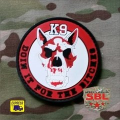 "Funny Patch Emborrachado K9 ""Doin it the Bitches"" - comprar online"