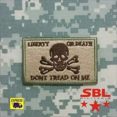 "Patch ""Liberty or Death"" - MILITARIA SBL"