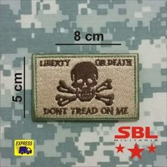 "Patch ""Liberty or Death"" - loja online"