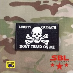 "Patch ""Liberty or Death"" - comprar online"