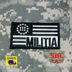 Patch Bandeira USA Militia na internet