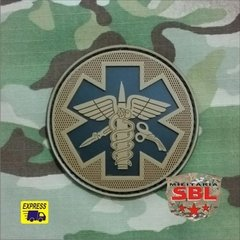 Patch Emborrachado Cruz Médica
