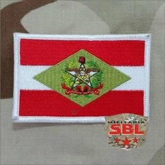 Patch Bandeira do Estado de Santa Catarina Cores