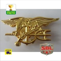 Imagem do Insígnia Pin Broxe Especial Forces USMC NAVY SEAL´s