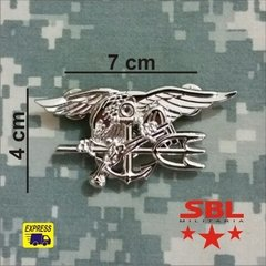 Insígnia Pin Broxe Especial Forces USMC NAVY SEAL´s na internet