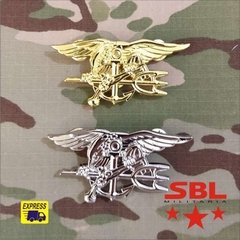 Insígnia Pin Broxe Especial Forces USMC NAVY SEAL´s