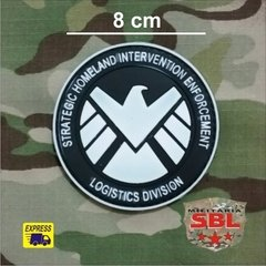 Patch Emborrachado SHIELD Logistic Division - comprar online