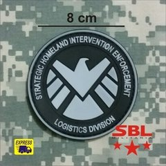 Patch Emborrachado SHIELD Logistic Division - MILITARIA SBL