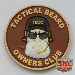 Patch Emborrachado Beard Owners Club - Barba - comprar online