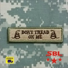 "3Patch Tarja ""Dont Tread on Me"" - loja online"