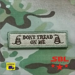 "Imagem do 3Patch Tarja ""Dont Tread on Me"""