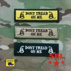 "3Patch Tarja ""Dont Tread on Me"""