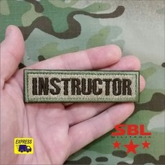 Patch Tarja Instructor na internet