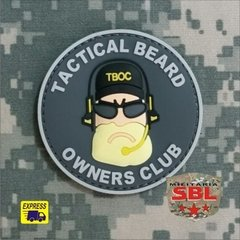 Patch Emborrachado Beard Owners Club - Barba na internet