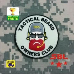 Patch Emborrachado Beard Owners Club - Barba - loja online