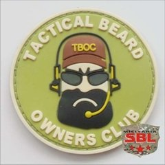 Imagem do Patch Emborrachado Beard Owners Club - Barba