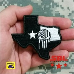 Patch Texas Territory Punish Caveira - comprar online