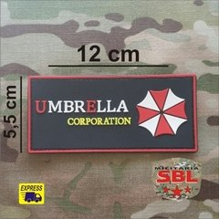 Funny Patch Emborrachado Umbrella Corp. Ret - MILITARIA SBL