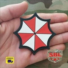 Funny Patch Emborrachado Umbrella Corporation Logo - MILITARIA SBL