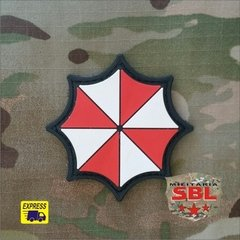 Funny Patch Emborrachado Umbrella Corporation Logo na internet