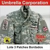 Lote de Patches Desert ACU Umbrella Corp (3 unidades)