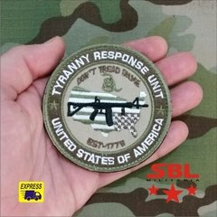 "Patch ""Dont Tread on Me"" Unidade Combate a Tirania CIA Seal´s na internet"