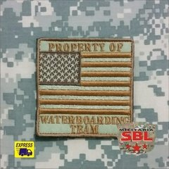 Patch bandeira USA Waterboarding Team