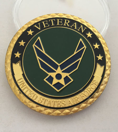 Moeda Veteranos USAF - United States Air Force - comprar online