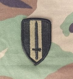 Patch USARV Comando de apoio  - Guerra do Vietnã