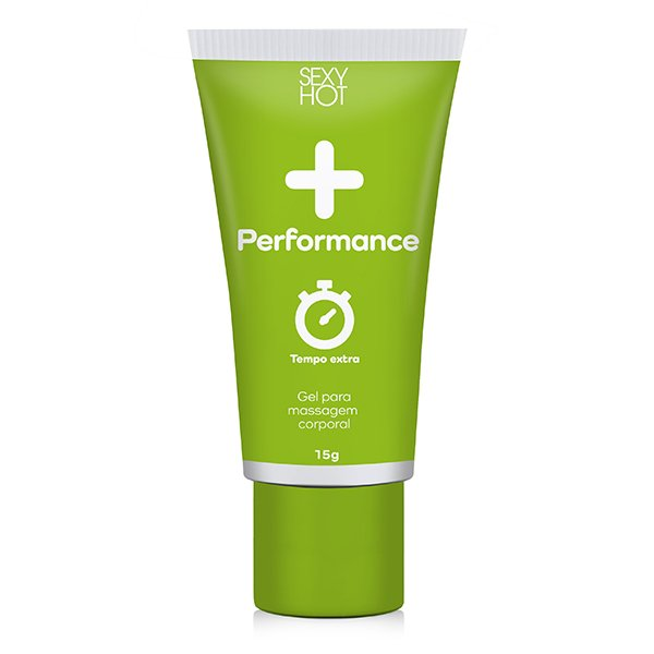 Gel Masculino para Massagem - + Performance Sexy Hot