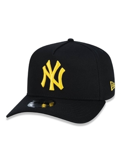 Boné New York Yankees Black Yellou