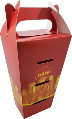 500 pçs Embalagem Batata Delivery M (aprox 400g)