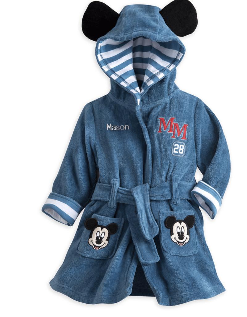 a3e0f1d12372 Bata de baño Disney Mickey Mouse Talla 6-9 meses