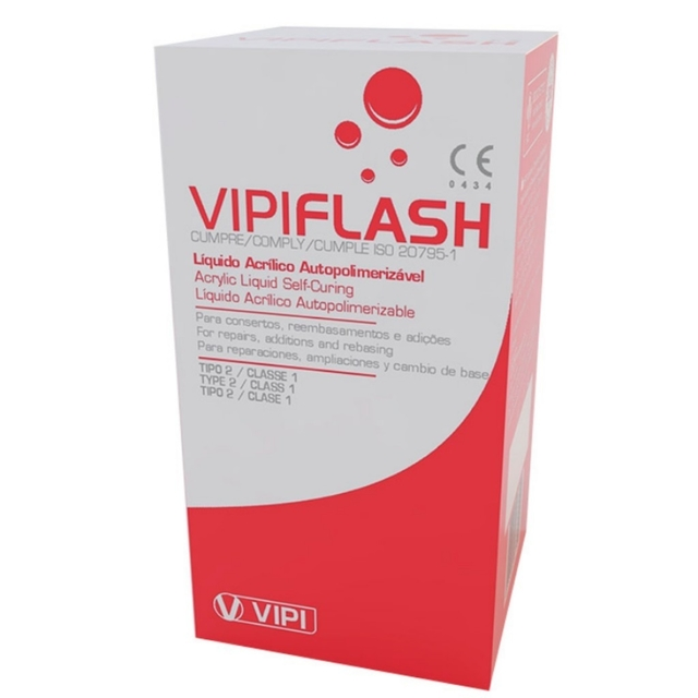 Resina Acrílica Vipi Flash 50ml | Vipi