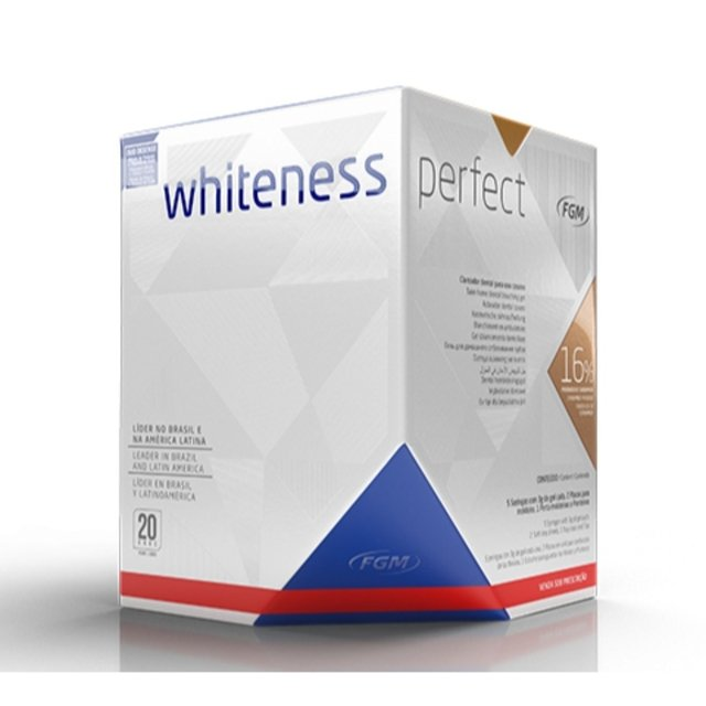 Clareador Whiteness Perfect 16% Kit | FGM - comprar online