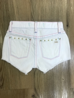Shorts Jeans Branco Juicy Couture - Brechó CoolKids