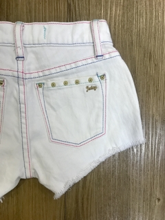 Shorts Jeans Branco Juicy Couture na internet