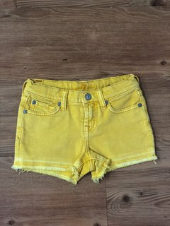 Shorts Amarelo Seven for All Mankind