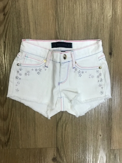 Shorts Jeans Branco Juicy Couture