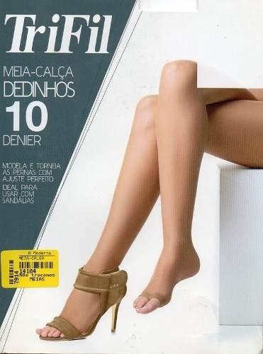 bdc1babec Meia-calça Fio 10 Dedinhos De Fora - Dona Amélia