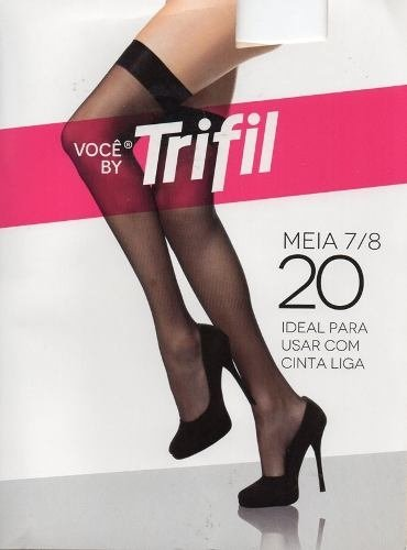 4edc632f4 Meia 7 8 Trifil Tam. Único Fio 20 - Dona Amélia