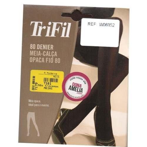 77c8db508 Meia-calça Fio80 Trifil - Comprar em Dona Amélia
