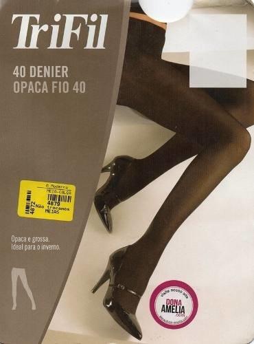 d0104e5ee Meia-calça Trifil Fio 40 Opaca - Dona Amélia