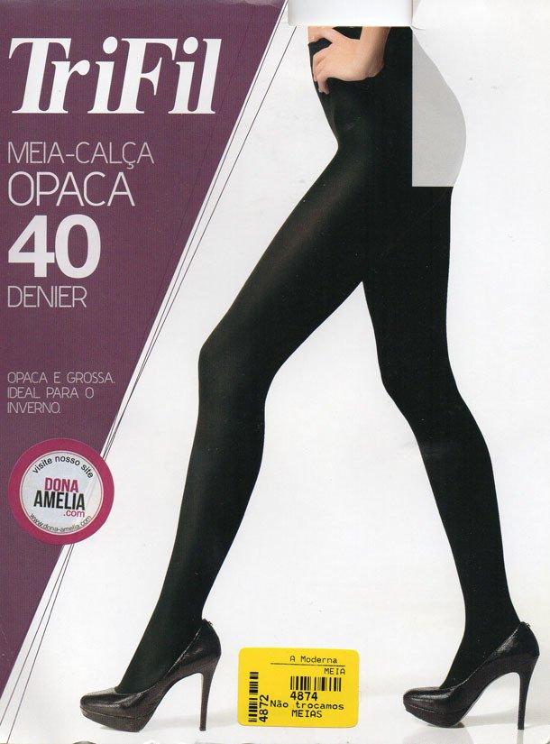 46a838a07 Meia-Calça Fio 40 Opaca - w06345 - Dona Amélia