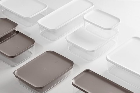 FOOD CONTAINER blanco size 3  / 750 ml / 271227 - ORGANIZZA