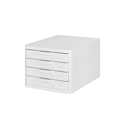 FILE CABINET WHITE  4 DRAWERS 271494 - comprar online