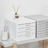 FILE CABINET WHITE  4 DRAWERS 271494 - ORGANIZZA